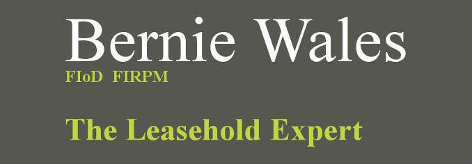 Bernie Wales Header